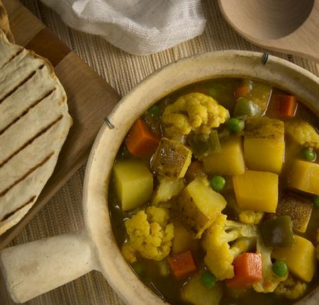 PEI Potato and Vegetable Curry