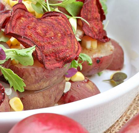 PEI Smoked Red Potato Salad