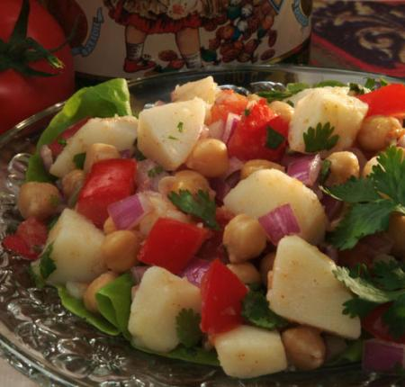 PEI Potato Mediterranean Salad