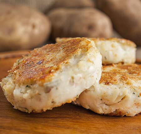 PEI Potato Fish Cakes