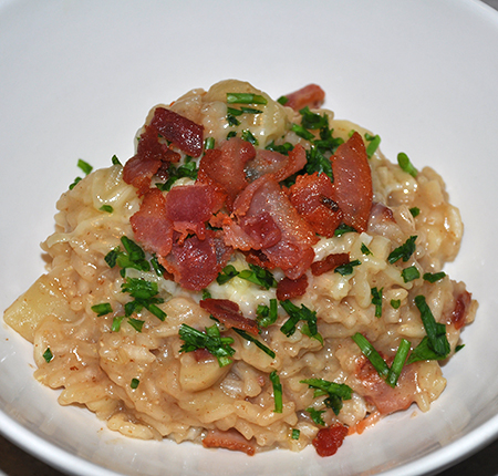 Loaded Baked Potato Risotto