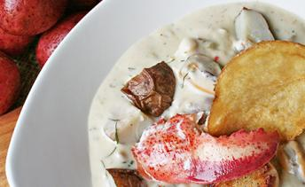PEI Potato & Fennel Seafood Chowder