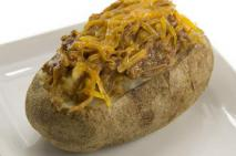 Pulled Pork Stuffed Baked Potato