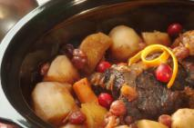 PEI Cranberry Orange Pot Roast