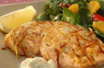 PEI Potato Crusted Salmon