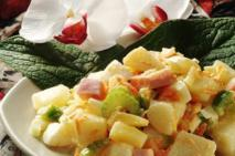 PEI Hawaiian Potato Salad